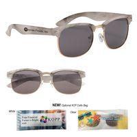 365760472-816 - Marbled Panama Sunglasses - thumbnail