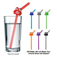 365988871-816 - Silicone Straw With Clipster - thumbnail