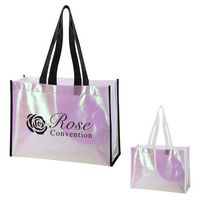 366001036-816 - Mini Pearl Laminated Non-Woven Tote Bag - thumbnail