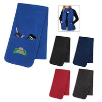 375163675-816 - Fleece Scarf With Pockets - thumbnail