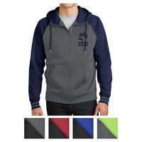 375414635-816 - Sport-Tek® Sport-Wick® Varsity Fleece Full-Zip Hooded Jacket - thumbnail
