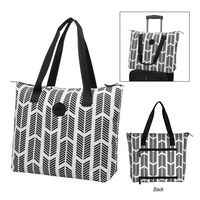 375641845-816 - Chevron Chic Tote Bag - thumbnail