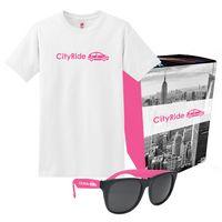 505083191-816 - Hanes® T-Shirt And Sunglasses Combo Set With Custom Box - thumbnail