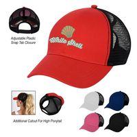 506126854-816 - Bed Head Ponytail Cap - thumbnail