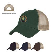 522860285-816 - Washed Cotton Mesh Back Cap - thumbnail