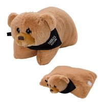 525782176-816 - Bernard Bear Plush Pillow - thumbnail