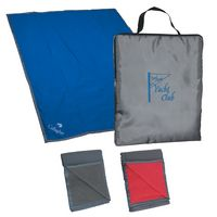 531346540-816 - Reversible Fleece/Nylon Blanket With Carry Case - thumbnail