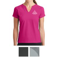 535551471-816 - Nike Ladies Dri-FIT Stretch Woven V-Neck Top - thumbnail