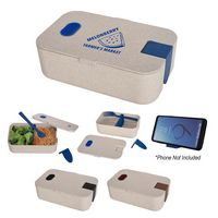 536095585-816 - Wheat Lunch Set With Phone Holder - thumbnail