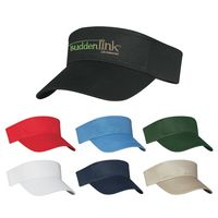 543120090-816 - Cotton Twill Visor - thumbnail