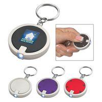 553338663-816 - Round LED Key Chain - thumbnail