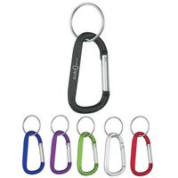 573427406-816 - 6mm Carabiner With Split Ring - thumbnail