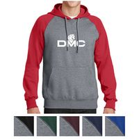 585438963-816 - Sport-Tek® Raglan Colorblock Pullover Hooded Sweatshirt - thumbnail