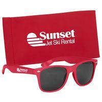 595904827-816 - Malibu Sunglasses With Pouch - thumbnail