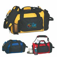 721993241-816 - Deluxe Sports Duffel Bag - thumbnail