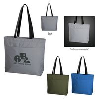 723123825-816 - Solstice Reflective Cooler Tote Bag - thumbnail