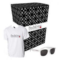 735499004-816 - Gildan® T-Shirt And Sunglasses Combo Set With Custom Box - thumbnail