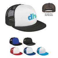 743997848-816 - Flat Bill Trucker Cap - thumbnail