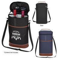 765490004-816 - Double Wine Cooler Bag - thumbnail