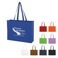 771345637-816 - Non-Woven Shopper Tote Bag With Hook And Loop Closure - thumbnail