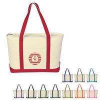 793122820-816 - Large Heavy Cotton Canvas Boat Tote Bag - thumbnail