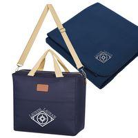 915426594-816 - Hefty Cooler Bag With Fleece Blanket - thumbnail