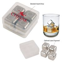 915760421-816 - Stainless Steel Ice Cubes In Case - thumbnail