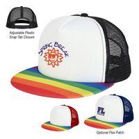 915814877-816 - Rainbow Trucker Cap - thumbnail
