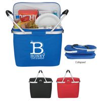 934599598-816 - Picnic Fun Collapsible Cooler Basket - thumbnail