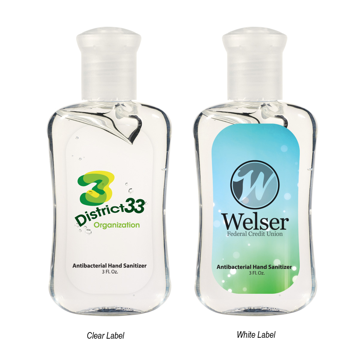 964289539-816 - 3 Oz. Hand Sanitizer Fashion Bottle - thumbnail