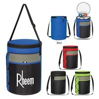 965514659-816 - Cylindrical Insulated Cooler Bag - thumbnail