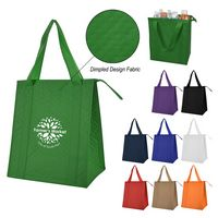 966007174-816 - Dimples Non-Woven Cooler Tote Bag - thumbnail