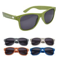 966101827-816 - Wheat Malibu Sunglasses - thumbnail