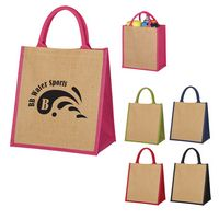 985178198-816 - Escape Jute Tote Bag - thumbnail