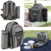 145513528-169 - Wine Picnic Backpack for Four - thumbnail