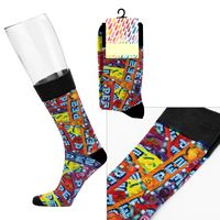 976097848-169 - Custom Crew Sock - Digital Sublimation - thumbnail