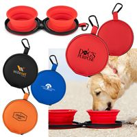 985907927-169 - Mocha Collapsible Bowls w/Case - thumbnail