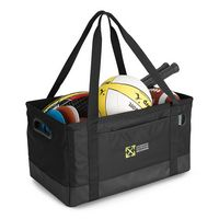 115082670-112 - Life in Motion™ Deluxe Utility Tote Black - thumbnail