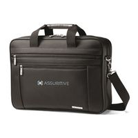 155003440-112 - Samsonite Classic Business Perfect Fit Two Gusset Computer Portfolio Black - thumbnail