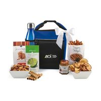 155679824-112 - Spirited Gourmet Lunch Break Cooler with Geyser Bottle Gift Set Blue - thumbnail