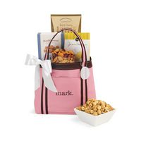 305679679-112 - WFH Snack Tote - Pink-Brown - thumbnail
