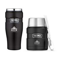 375358903-112 - Thermos® Stainless King™ Travel Gift Set Black - thumbnail