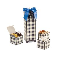 505774617-112 - Mad For Plaid Sweet & Savory Snacks Keepsake Box Black-White - thumbnail