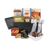 515679642-112 - Sunsational Executive Gourmet Keepsake Box Black - thumbnail