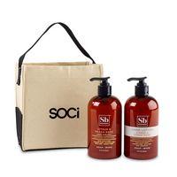 516256519-112 - Soapbox® Cleanse & Soothe Gift Set - Natural-Citrus & Peach Rose - thumbnail