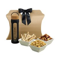 555774568-112 - Bali Retreat & Relax Treats Tote Black-Natural - thumbnail