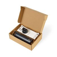 716283747-112 - MiiR® Wide Mouth Bottle & Straw Lid Set - Black Powder - thumbnail