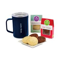 716284138-112 - Corkcicle® Sip & Indulge Cookie Gift Set - Gloss Navy - thumbnail