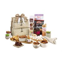725774551-112 - Naturally Delicious Gourmet Basket Tower Natural - thumbnail