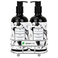 726451715-112 - Beekman 1802 Vanilla Absolut Soap & Lotion Gift Set - Chrome Plated Metal - Beekman - thumbnail